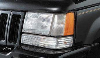 Clean Headlights After